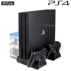 테크라인 DOBE PS4 공용 쿨링 멀티 스탠드